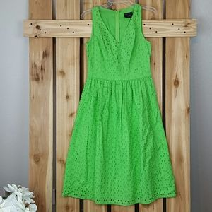Just Taylor Lime Green Dress